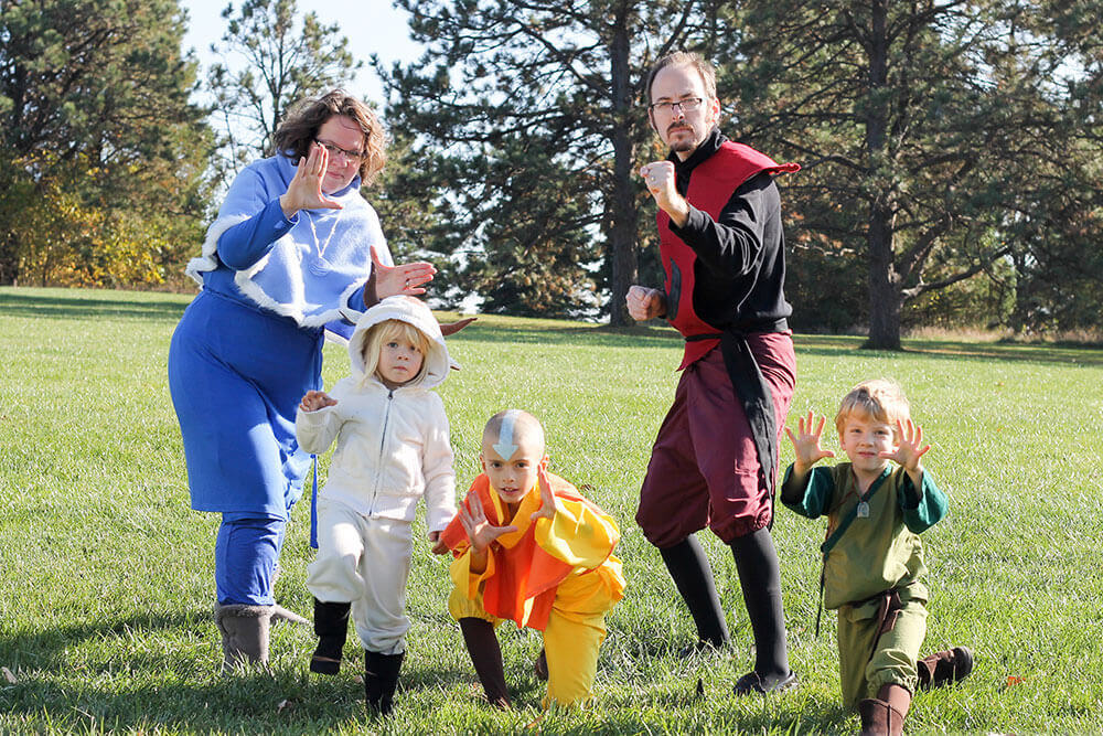 we have been planning our family halloween costumes for a long time and when it all came together it was more fun than i had even imagined